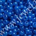 Preciosa, čekiškas biseris apie 50 gr. ( 10/0 ) mėlyna sp.