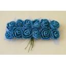 Dekoratyvinės gėlytės , mėlyna sp., 12 vnt.