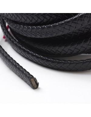 Pinta odinė juostelė  , juoda sp., 10x5 mm., 1 m.