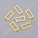 Paskirstytojas , aukso sp., 30x11x2 mm., 3 vnt.