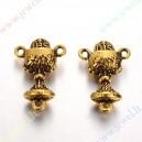 """Paskirstytojas """"taurė"""" , aukso spalvos 21x14x5 mm, 1 vnt"""