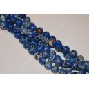 Variscitas , margas , mėlynas 8 mm.,1 juosta