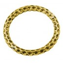 Žiedas paskirstytojas , sendinto aukso sp. 36x3,5 mm, 2 vnt.