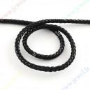 Pinta dirbtines odos juostelė, 5 mm, juoda , 1 m.