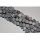 Netstone karoliukai ,matinis , 6 mm , 1 juosta