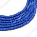 Parašiutinė virvė su paracordu, mėlyna, 4 mm.,5 m.