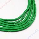 Parašiutinė virvė su paracordu, žalia ,  4 mm.,5 m.