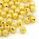 Aukso spalvos intarpas 8 mm., 12 vnt.