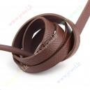 Odos imitacijos juostelė , ruda , 10x2,5 mm., juosta apie 1,2 m.