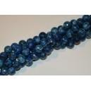 Marmuras , briaunuotas , 10 mm, mėlyna sp. , 1 juosta ( apie 38 vnt.)