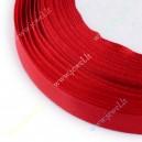 Atlasinė juostelė 10 mm., raudona , apie 23 m.