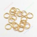 Aukso spalvos žiedeliai 5x1 mm., apie 90 vnt.