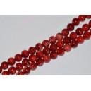 Koralas , raudonas , apie 7 mm., 1 juosta ( 60 vnt.)
