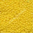 Preciosa, čekiškas biseris apie 50 gr. ( 9/0 ) geltona sp.